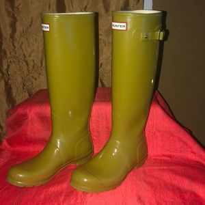 Women's Hunter Original Boots Size 7M